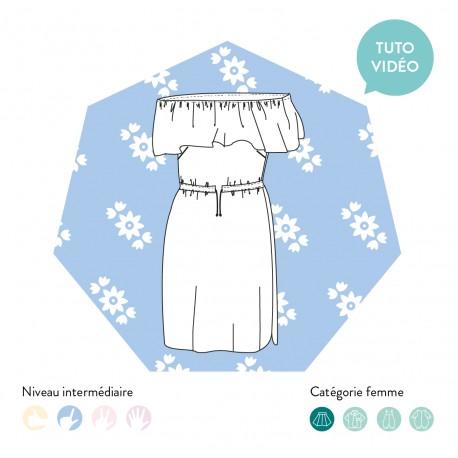 Dress Sewing Pattern - Les Patronnes Kahlo