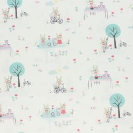 Primrose Fabrics cotton fabric - raw Day Outside x 10 cm