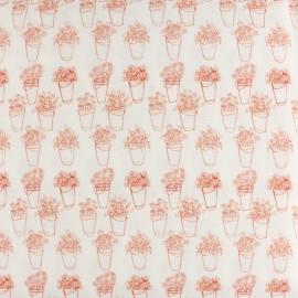 Primrose Fabrics cotton fabric - raw Flower market x 10 cm