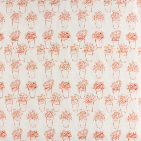 Primrose cotton fabric - raw Day Outside x 10 cm