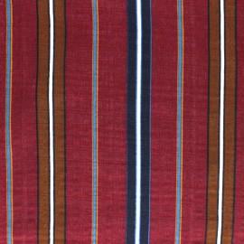 Tissu voile coton viscose Alexandrie - Bordeaux x 10cm