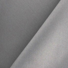 Toile polyester gris