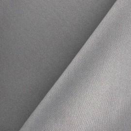 Tissu toile polyester gris x 10cm