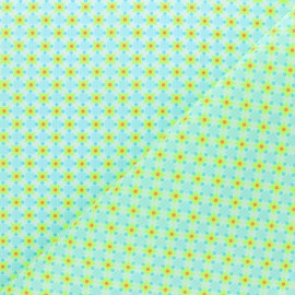 Petit pan cotton fabric - yellow Stella x 10cm