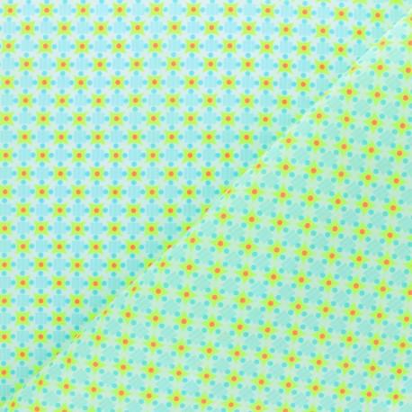 Tissu coton Petit Pan Stella - jaune x 10cm