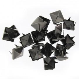 Griffes carré nickel noir