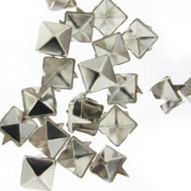 Griffes carré nickel argent