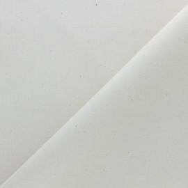 Tissu Calicot coton 100g/m2 - naturel x 10cm