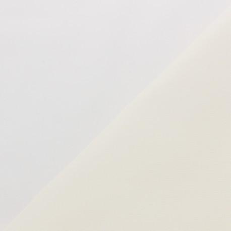 Tissu coton cretonne Essentiel 100g/m2 (laize : 85cm) - naturel x 10cm