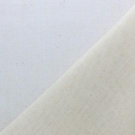 Twill cotton fabric 205g/m2 - Natural x 10cm