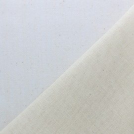 Tissu étamine coton (laize: 130cm) - naturel x 10cm