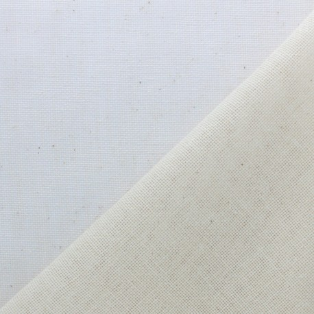Twill cotton fabric 205g/m2 - Natural x 10cm