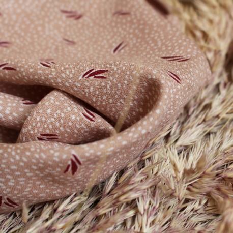 Tissu crêpe de viscose Atelier Brunette - Dune off-white x 10cm