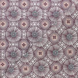 Tissu coton cretonne Bissau - vert foncé x 10cm