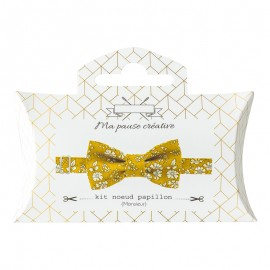 Kit Noeud Papillon Liberty Capel - Moutarde