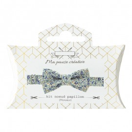 Liberty Bow Tie Sewing Kit - Sky Eloïse