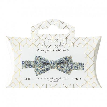 Liberty Bow Tie Sewing Kit - Sky Eloïse