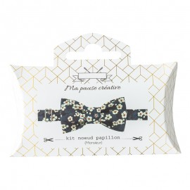 Liberty Bow Tie Sewing Kit - Blue Mitsi