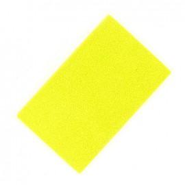 Tampon encreur textile jaune