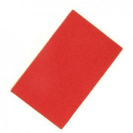 Tampon encreur textile rouge