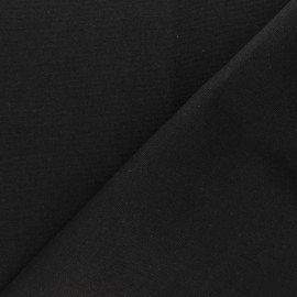 Half Canvas Cotton fabric - black Sequoia x 10cm