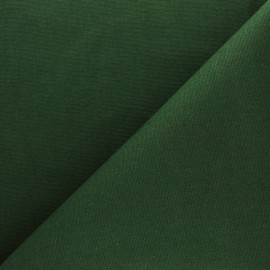 Half Canvas Cotton fabric - Pine green Sequoia x 10cm