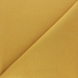 Half Canvas Cotton fabric - mustard yellow Sequoia x 10cm