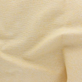 Polycotton fabric - yellow Cubex x 10cm