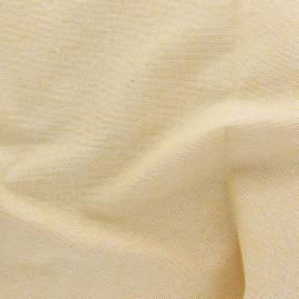 Tissu toile polycoton Cubex - jaune x 10cm