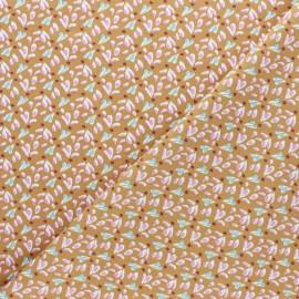 Tissu jersey Tipavao - Caramel x 10cm