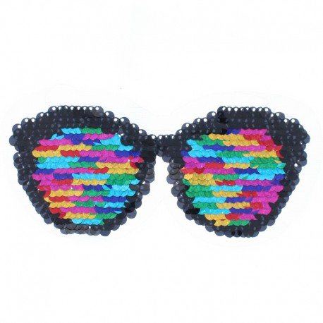 Reversible Sequin Sewing Patch - Multico Sunglasses