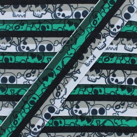 40 mm Pirate's Love Elastic Ribbon - D x 1m