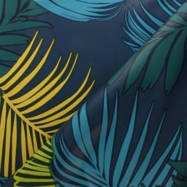 Tissu toile cirée Caipirinha - bleu x 10cm
