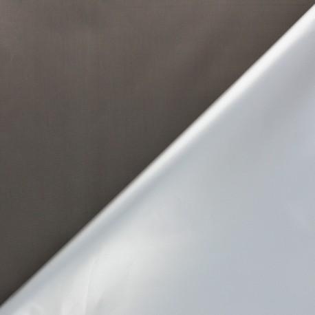 Tissu occultant thermique fin Scandia - gris x 10cm