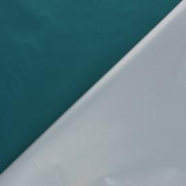 Tissu occultant thermique fin Scandia - bleu canard x 10cm