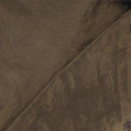 Tissu taffetas uni bronze clair x 10cm