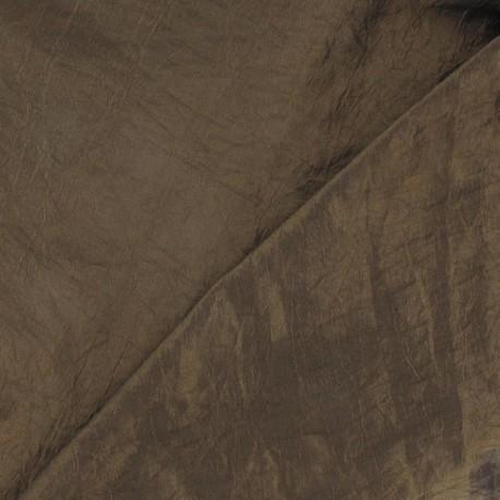 Taffeta Fabric - Light Bronze x 10cm