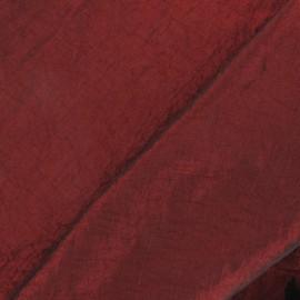 Tissu taffetas uni bordeaux x 10cm