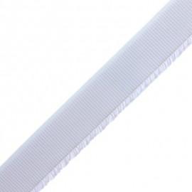 Elastique Plat pour Ceinture - Blanc x 1m