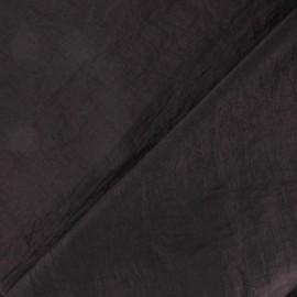Tissu taffetas uni aubergine x 10cm