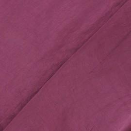 Taffeta Fabric - Plum x 10cm