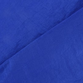 Tissu taffetas uni bleu Roy x 10cm