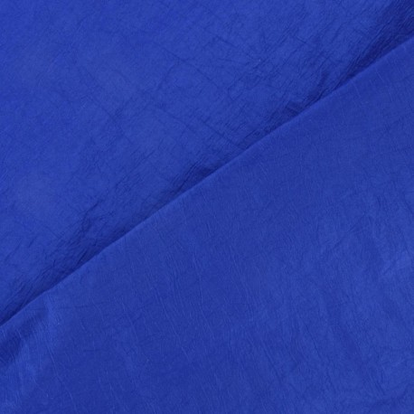 Taffetas uni bleu Roy