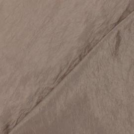 ♥ Coupon 190 cm X 145 cm ♥ Tissu taffetas uni brun