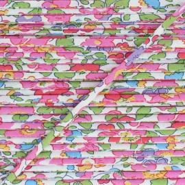 Liberty Stitched Ribbon - Betsy A x 1m