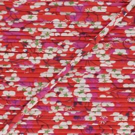 Liberty Stitched Ribbon - Mitsi B x 1m