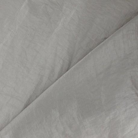 Taffeta Fabric - Mouse Grey x 10cm
