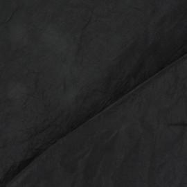 Taffetas uni noir