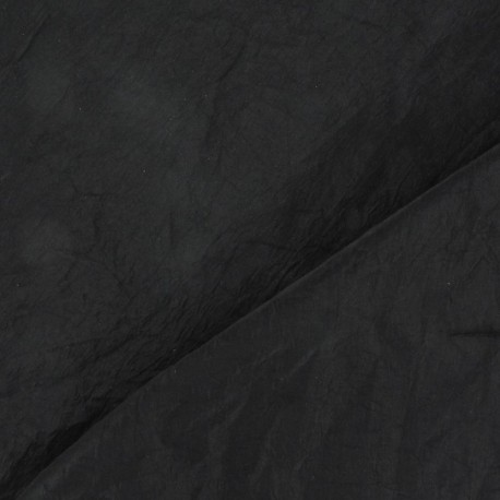 Taffeta Fabric - Black x 10cm