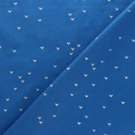Tissu Hoffman Fabrics Batiks Me+You - Bleu/Argent x 10cm